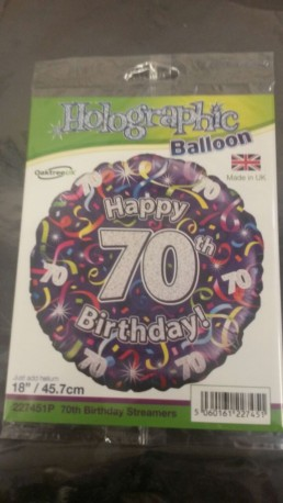70th Balloon