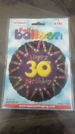 30th Balloon