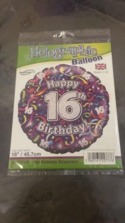 16th Balloon