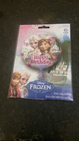 Frozen Birthday Balloon