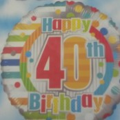 40th Balloon