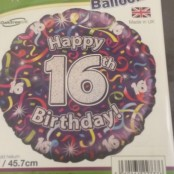 16th Balloon